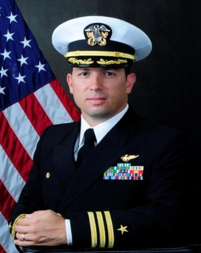 CDR Chad M. Falgout, USN