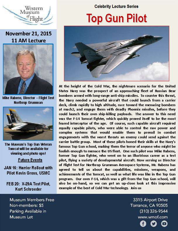 November 2015 Celebrity Lecture