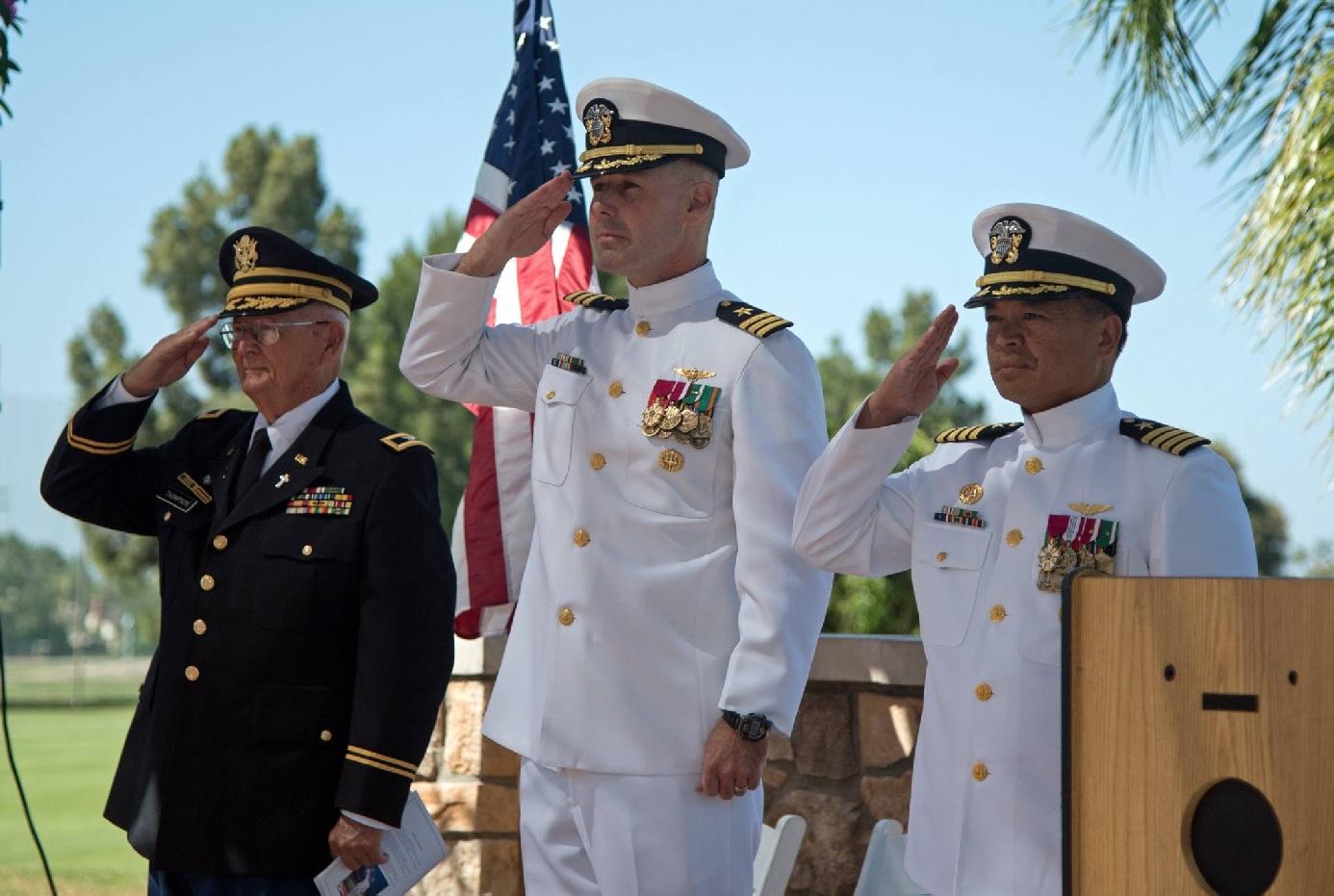 """Retirement Ceremony – CDR Erik """"Reno"""" Franzen, USN"""
