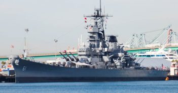 FEBRUARY LUNCHEON BRIEFING USS IOWA anti-aircraft weapons                  by David L. Malmad – PAO