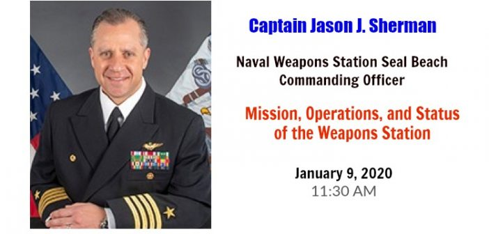 Speaker Bio: Captain Jason J. Sherman