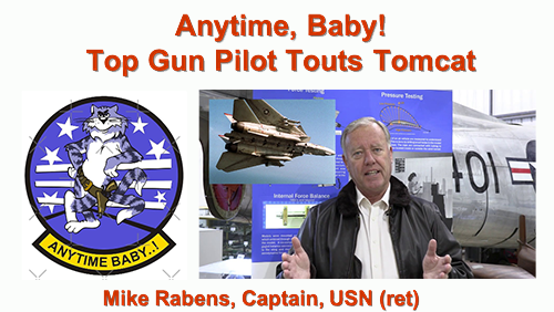 ZOOM With Us! Top Gun CAPT Mike Rabens, USN (ret) Jan 14, 12pm PST